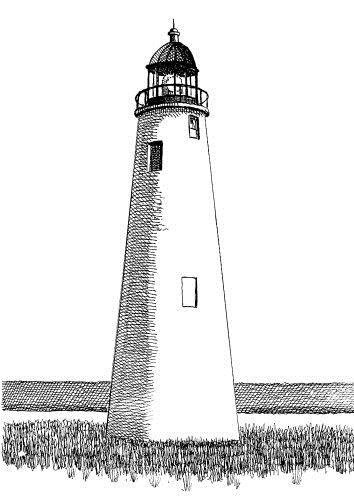 Where Is Jupiter Florida >> Florida Lighthouse Association, Inc. - FL Lighthouse Drawings by Paul Bradley